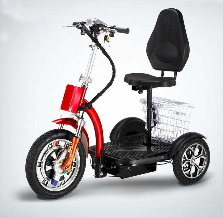 Travel-X Deluxe Electric Mobile Scooter red, Cozytrike