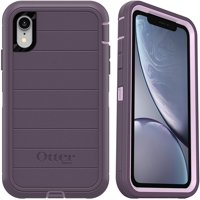 OtterBox Defender Series Rugged Case for iPhone XR, Purple Nebula