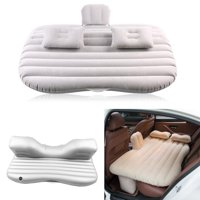 Travel Airbed,Ymiko Car Inflatable Bed Back Seat Mattress Airbed for Rest Sleep Travel Camping,Back Seat Mattress