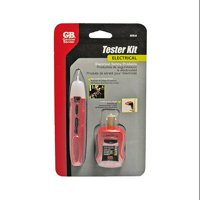 Gardner Bender GTK-2 2-Piece Electrical Tester Safety Kit, includes Non-Contact Voltage and GFCI Outlet Testers