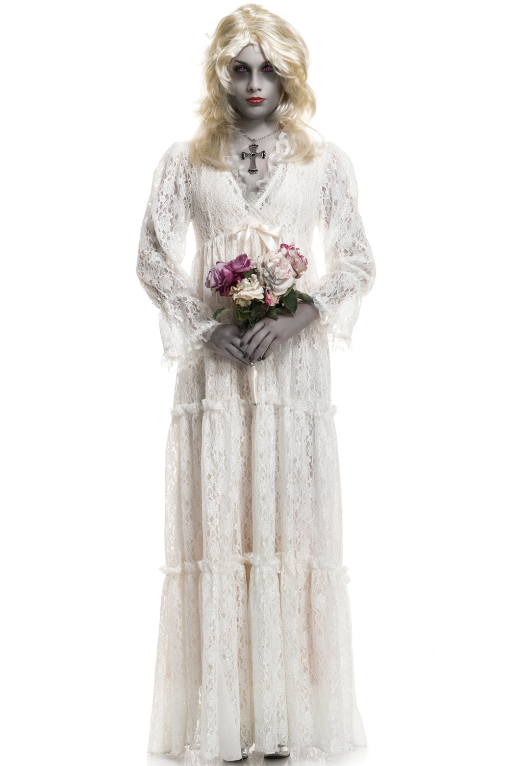 lost soul wedding gown costume by charades 03099v com