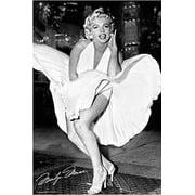 Marilyn Monroe - White Dress - 7 Year Itch 36x24 Photograph Art Poster Print