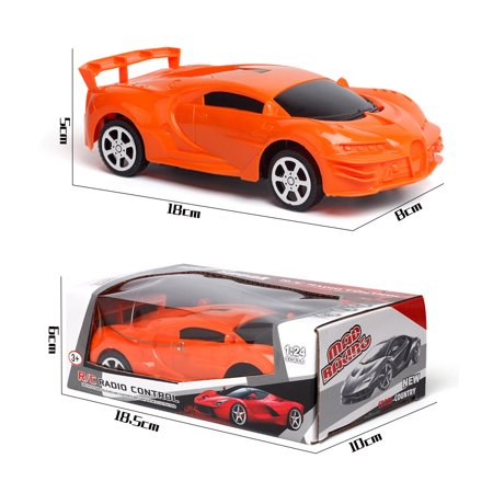 2.4GHz Remote Control RC Racing Car High Speed Wireless Electric Adult Kid Toy Christmas Gift RacingTruck (Color: Randomly) - image 5 de 6