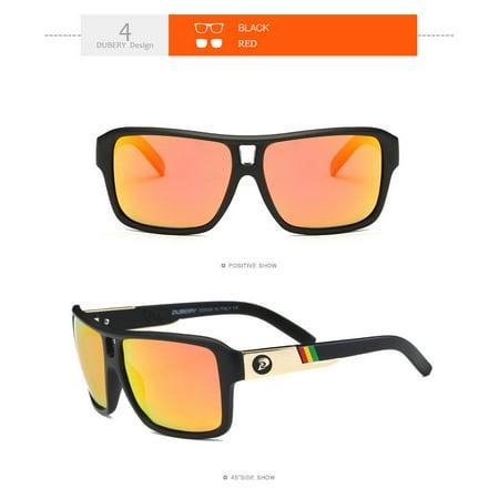9775892b29d DUBERY Polarized Sunglasses Men Sports Running Fishing Golfing Driving  Glasses - Walmart.com