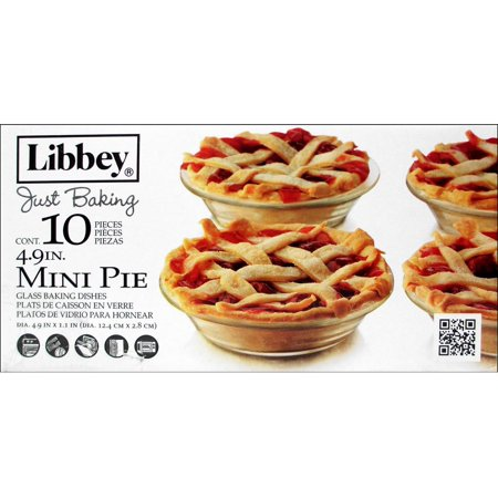Crisa By Libbey Glass Just Baking Pie 4.9