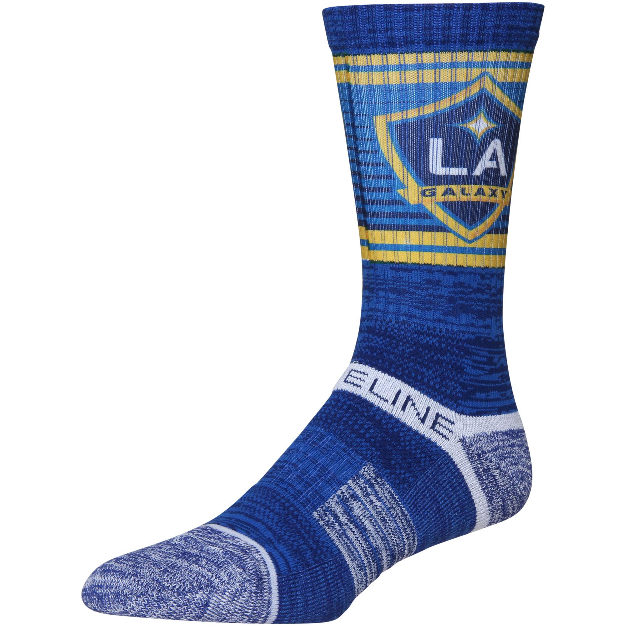 LA Galaxy Exclusive Crew Socks - Royal - OSFA