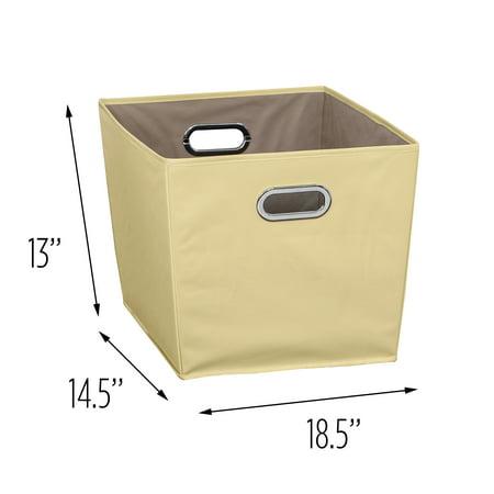 Honey-Can-Do Large Storage Bin, Yellow