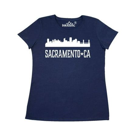 Sacramento California Skyline CA Cities Women's T-Shirt (Halloween City Sacramento)