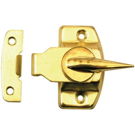 prime line f2527 brass window sash lock. Black Bedroom Furniture Sets. Home Design Ideas