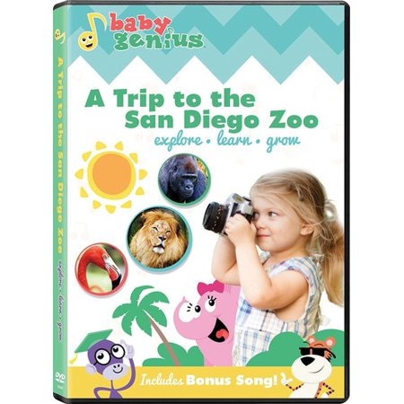 Baby Genius: Trip To San Diego Zoo (DVD)
