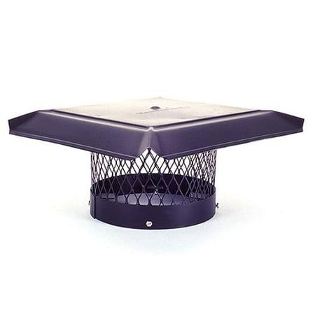 10'' Round Homesaver Pro Galvanized Chimney Cap - 14850