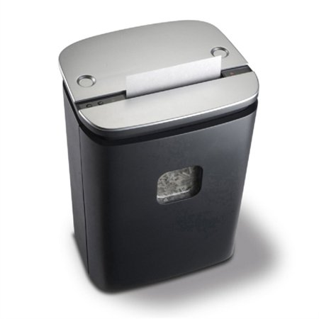 Royal 1600Mx Paper Shredder   Cross Cut   16 Per Pass   For Shredding Paper  Credit Card  Cd  Dvd   0 16  X 1 50  Shred Size   1 Hour Run Time   7 Gal Wastebin Capacity   Black  Silver