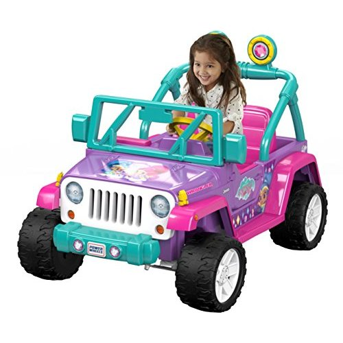 Power Wheels Nickelodeon Shimmer & Shine Jeep Wrangler by FISHER PRICE