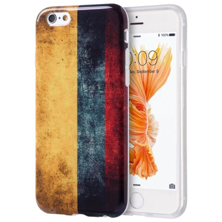 Insten Patriotic Vintage Flag Series Imd TPU Case For Apple iPhone 6s Plus / 6 Plus - Colombia - Halloween Series Imdb