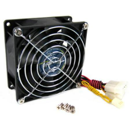 Vantec TD9238H 92mm x 92mm x 38mm Dual Ball-Bearing High-Speed Case Fan, Black