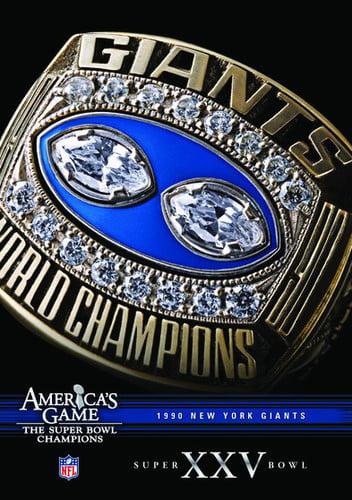 NFL America's Game: New York Giants Super Bowl XXV (DVD) by CINEDIGM