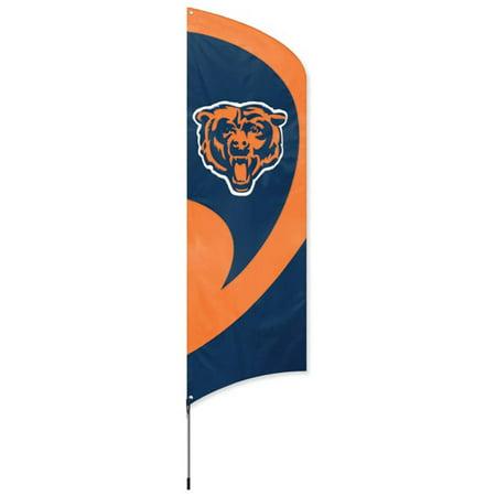 Steelers Tall Team Flag with Pole