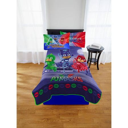 PJ Masks Plush Blanket, Kids Bedding, 62x90, Reach For It