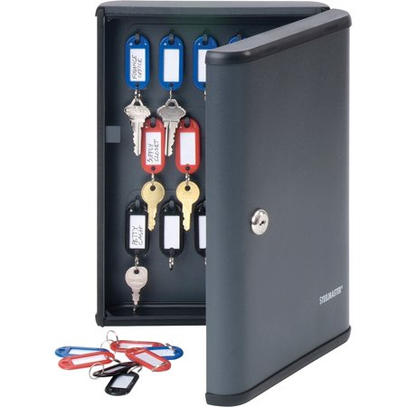 Steelmaster, MMF2017230G2, Security Key Cabinet, 1 / Each, Charcoal