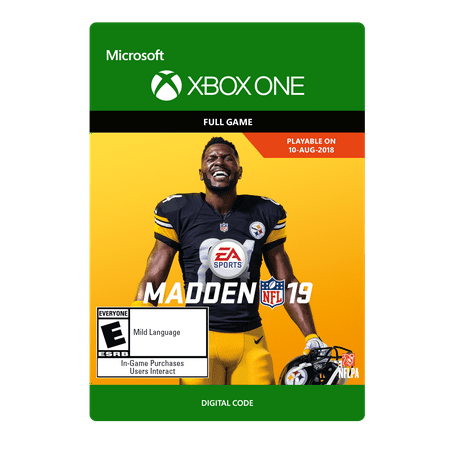Madden NFL 19, Electronic Arts, Xbox One, [Digital Download]  Walmart.com