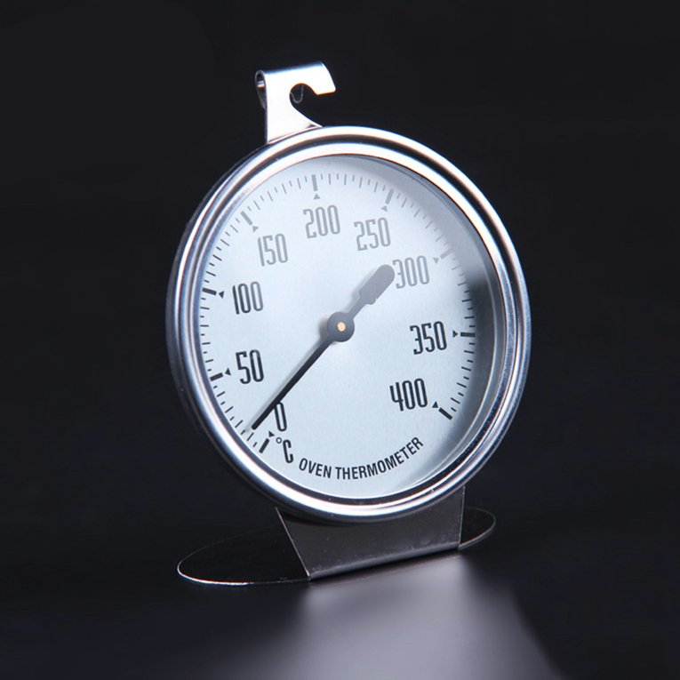 OUTAD Silver Stainless Steel Large Oven Thermometer Kitchen Thermometer Measuring Thermometer Baking Tool... by