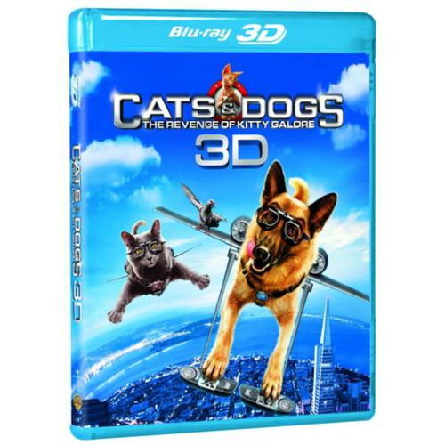 Cats & Dogs 2: The Revenge Of Kitty Galore (Blu-ray 3D) (Widescreen)