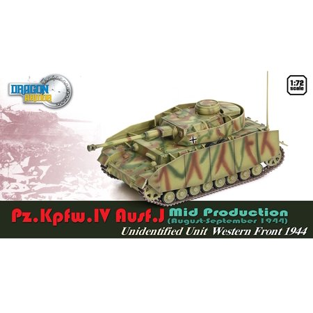 Dragon Models Pz.Kpfw.IV Ausf.J Mid Production Model Kit (1/72