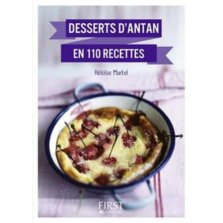 Petit Livre de - Meilleurs desserts d'antan en 110 recettes - eBook - Petit Dessert Pour Halloween