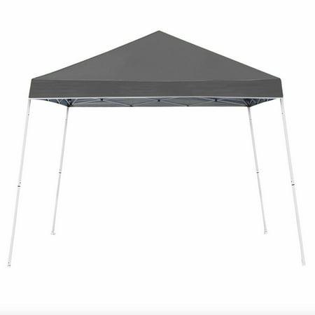 Z-Shade 10 x 10 Foot Angled Leg Taffeta Peak Style Canopy with Carry Bag, (High Peak Canopy)