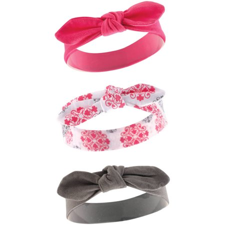Yoga Sprout Baby Girl Headbands, 3-Pack