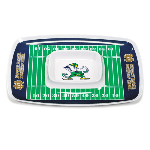 BSI Products NCAA Melamine Chip and Dip Platter