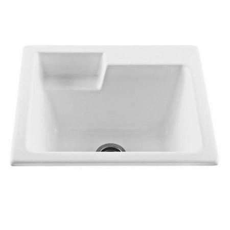 22 Laundry Sink - Versatile Laundry Sink, Biscuit