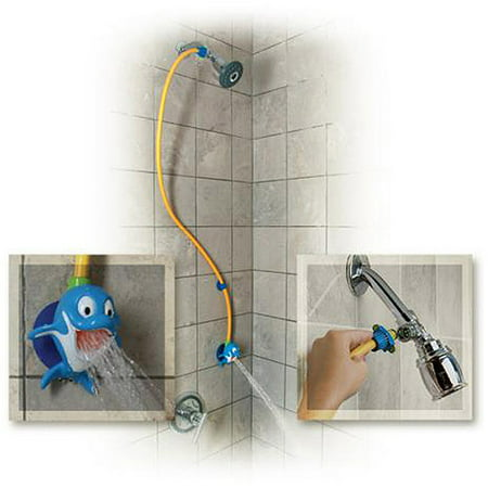 Rinse ace my own shower children 39 s showerhead dolphin for Childrens shower head