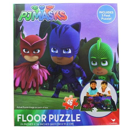 PJ Masks 46-Piece 3' Floor Puzzle](Discount Puzzles)