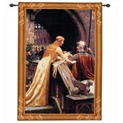 Manual Woodworkers and Weavers HWGGDS God Speed Tapestry Wall Hanging Vertical 26 X 35 in.