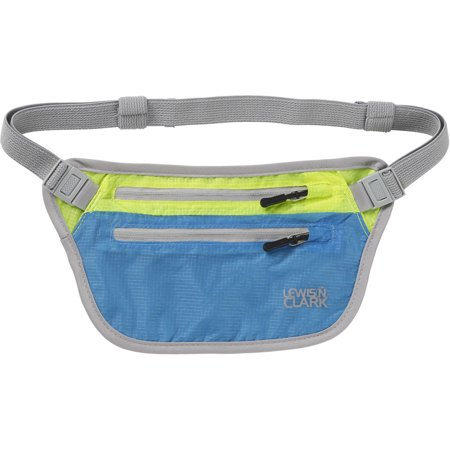 ElectroLight Waist Stash, Bright Blue/Neon Lemon