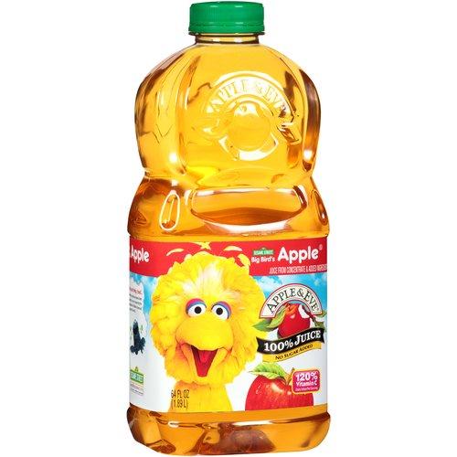 Apple & Eve Big Bird's Apple 100% Juice, 64 fl oz