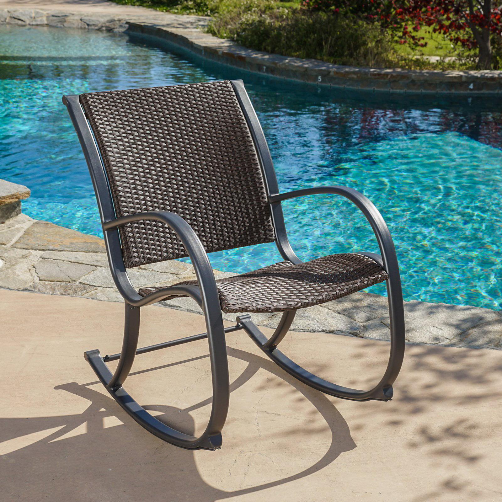 Nevin Outdoor Rocking Chair