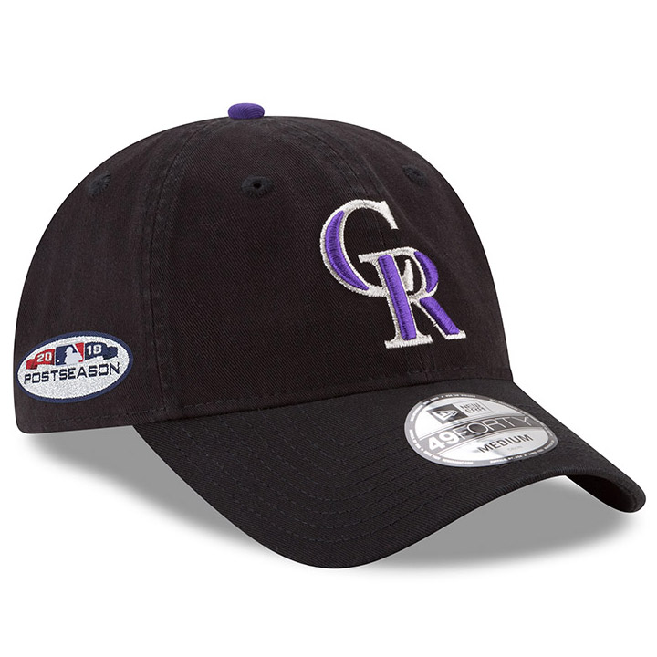 ... france colorado rockies new era 2018 postseason side patch 49forty fitted  hat black 4eb11 c7e38 a68d790caee6
