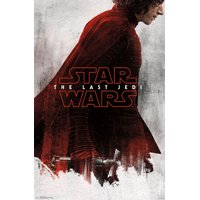 Star Wars: The Last Jedi - Red Kylo Poster and Poster Mount Bundle