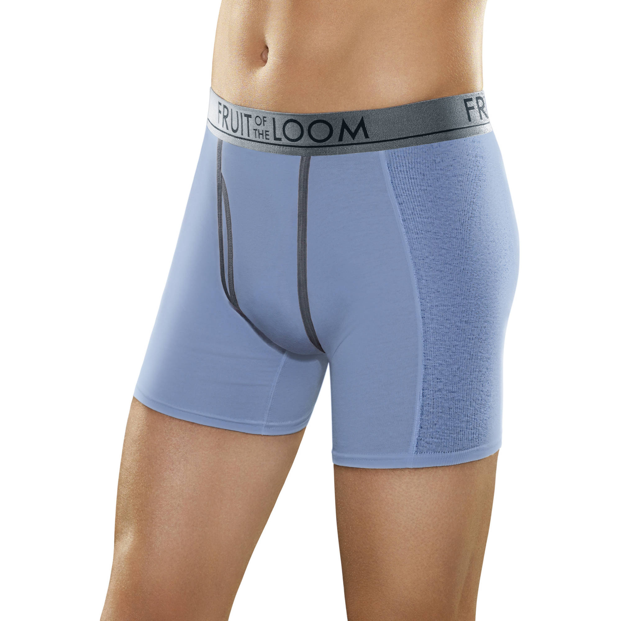 Fruit of the Loom Big Men's Ultra Flex Boxer Briefs, 2XL, 3 Pack by Fruit of the Loom