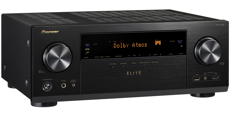 Pioneer Elite VSX-LX301 7.2 Channel Networked AV Receiver with Built-In Bluetooth & Wi-Fi Black by Pioneer