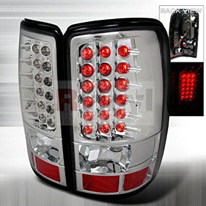 Chevrolet Suburban 2000 2001 2002 2003 2004 2005 2006 LED Tail Lights - Chrome