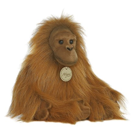 Aurora World Miyoni 11 inches Stuffed Orangutan (Puppy Monkey)