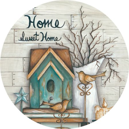 Custom Decor Accent Magnet - Home Sweet Home (Sweet 16 Magnet)