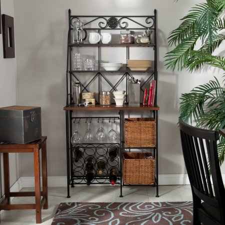 Belham Living Solano Bakers Rack with Baskets