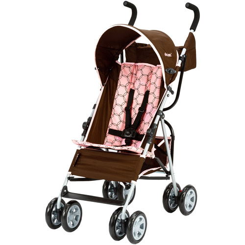 The First Years Jet Stroller, Brown and Pink Spiro