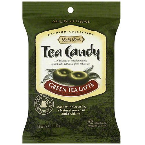 Bali's Best Green Tea Latte Candy, 5.3 oz (Pack of 12)