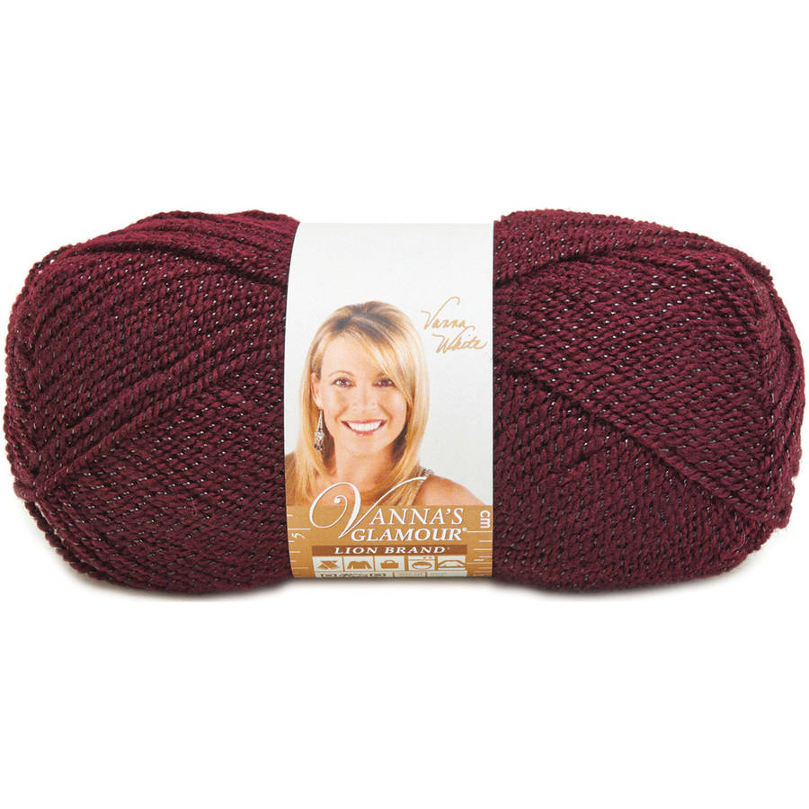 Vanna's Glamour Yarn, Available in Multiple Colors