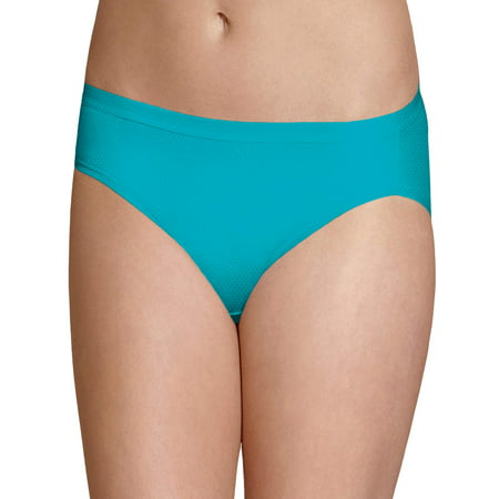 Fruit of the Loom Women's Breathable Micro-Mesh Bikini Underwear, 6 Pack ()